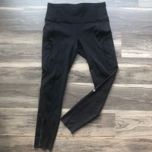 Lululemon Fast And Free Tight 7/8; Size 8